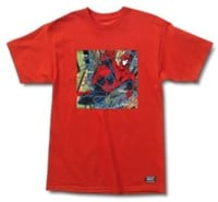 Grizzly Marvel x Grizzly Spiderman Aerial T-Shirt - red
