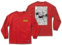 Grizzly Marvel x Grizzly Spiderman L/S T-Shirt - vintage red