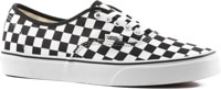Vans Authentic Skate Shoes - (checkerboard) black/true white