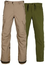 686 Authentic Smarty Cargo (3-In-1) Pants 2018 - khaki