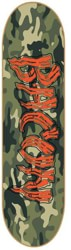 Bacon Skateboards Logo 8.25 Skateboard Deck - camo