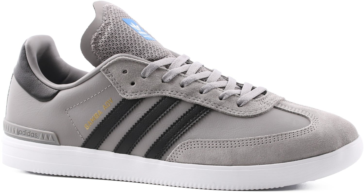 adidas samba adv skate shoes core heather solid grey. Black Bedroom Furniture Sets. Home Design Ideas