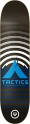 Tactics Base Camp Skateboard Deck - black