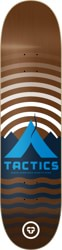 Tactics Base Camp Skateboard Deck - brown
