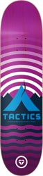 Tactics Base Camp Skateboard Deck - purple