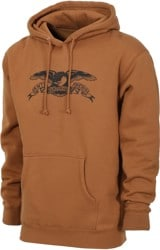 Anti-Hero Basic Eagle Hoodie - brown