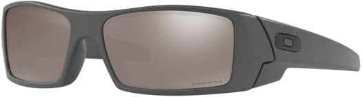 Oakley Gascan Polarized Sunglasses - steel/prizm black polarized lens - view large