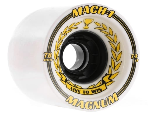 Venom Magnum Mach 1 Formula Cobra Core Longboard Wheels - white (74a) - view large