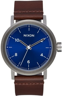 Nixon Stark Leather Watch - view large