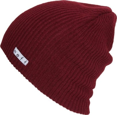 Neff Daily Beanie - maroon v1 - view large