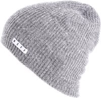 Neff Daily Heather Beanie - grey heather/white