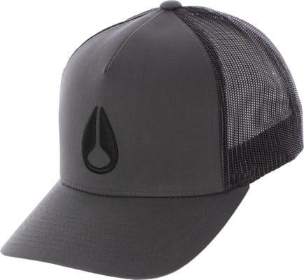 Nixon Iconed Trucker Hat - charcoal/black - view large