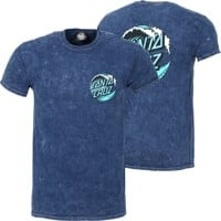 Santa Cruz Wave Dot T-Shirt - mineral navy