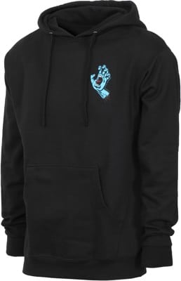 Santa Cruz Screaming Mini Hand Hoodie - black - view large