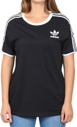 Adidas Women's 3-Stripes T-Shirt - black