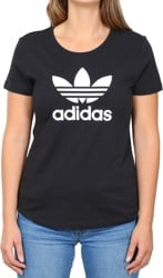 Adidas Women's Trefoil T-Shirt - black