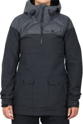 Volcom Ship Pull Over Jacket - black - alternate - view large