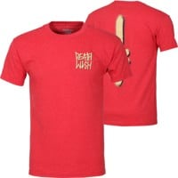 Deathwish The Truth T-Shirt - heather red/tan