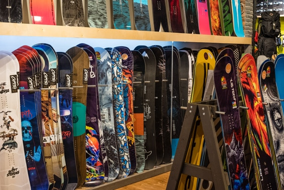 Bend snowboards