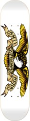 Anti-Hero Classic Eagle 8.75 Skateboard Deck - white