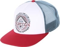 Burton I-80 Trucker Hat - fired brick