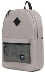 Herschel Supply Heritage Backpack - aspect light khaki crosshatch forest night