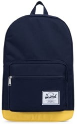 Herschel Supply Pop Quiz Backpack - peacoat/cyber yellow