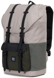 Herschel Supply Little America Backpack - aspect light khaki/crosshatch forest night