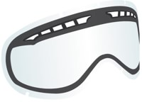 Dragon DX Replacement Lenses - clear lens