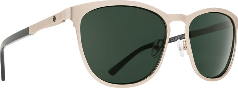 34f04af61f82f spy cliffside sunglasses matte gold gloss black happy gray gree free  shipping