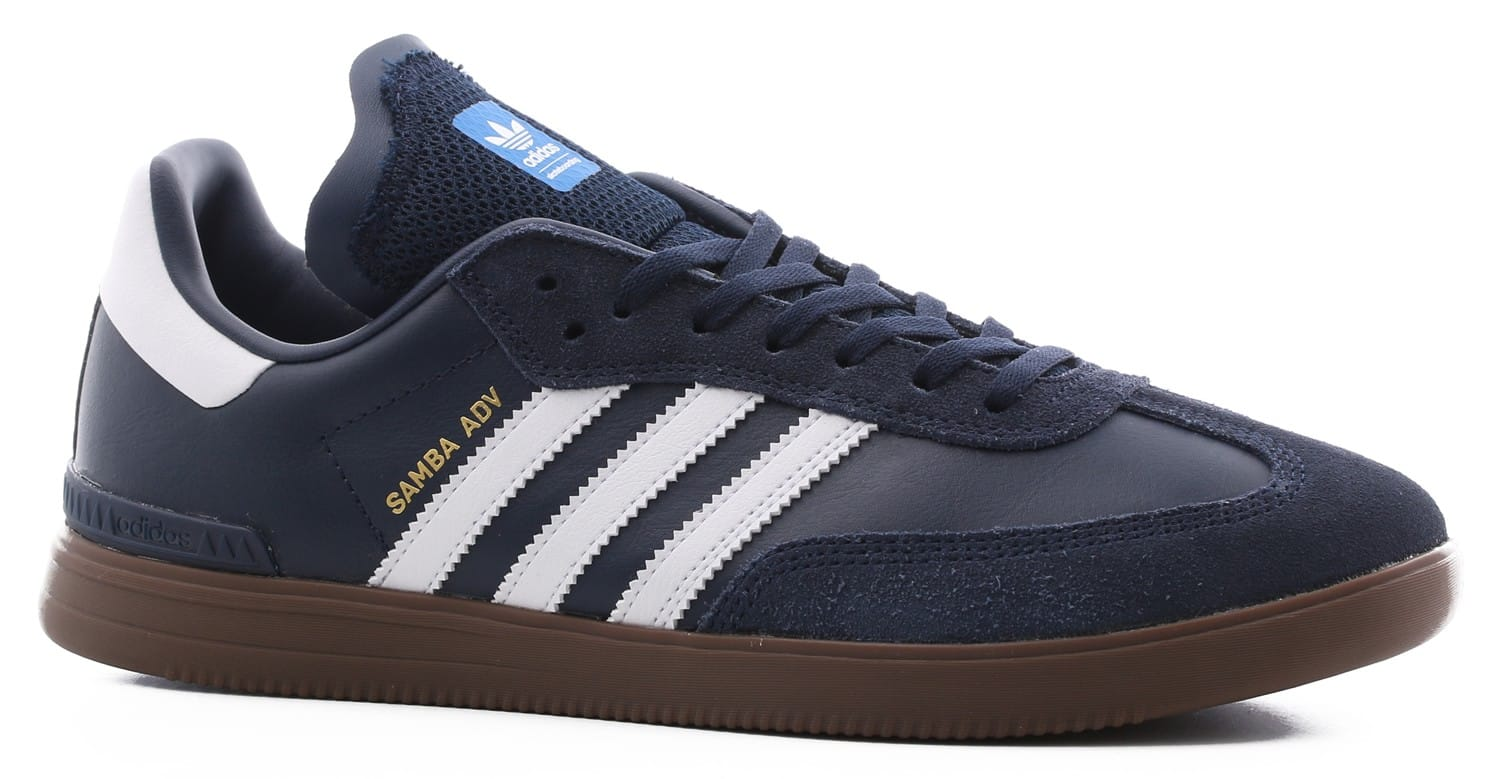 adidas samba adv skate shoes collegiate navy footwear. Black Bedroom Furniture Sets. Home Design Ideas