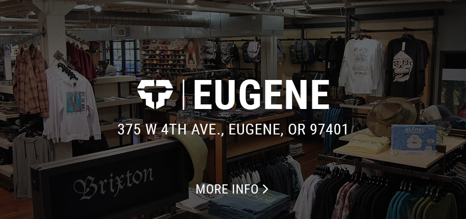 Eugene skate and snowboard shop