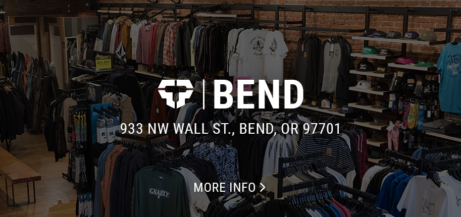 Bend skate and snowboard shop