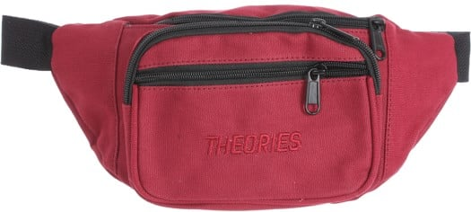 Theories Stamp Day Hip Pack - wine - view large