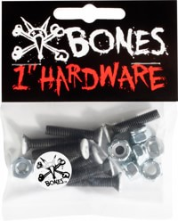 Bones Standard Phillips Skateboard Hardware - black/white