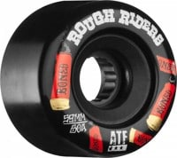 Bones ATF Rough Riders Skateboard Wheels - shotgun black (80a)