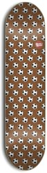 Skate Mental Wieger Soccer 8.0 Skateboard Deck - brown
