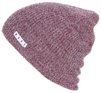 Neff Daily Heather Beanie - port/white