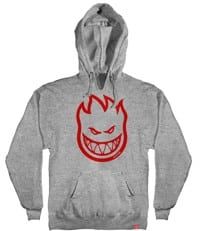Spitfire Youth Bighead Pullover Hoodie - athletic heather