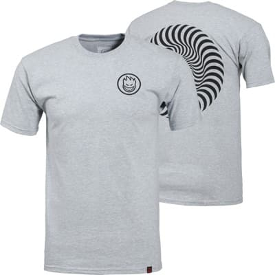 Spitfire Classic Swirl T-Shirt - athletic heather/black - view large