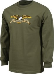 Anti-Hero Eagle L/S T-Shirt - military green