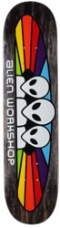 Alien Workshop Spectrum 7.875 Skateboard Deck - black / white text