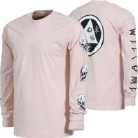 Welcome Sapien L/S T-Shirt - pink