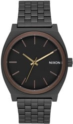 Nixon Time Teller Watch - all black/brown/brass