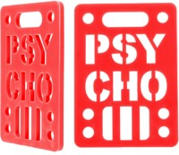 Vision Psycho Shock Risers - red