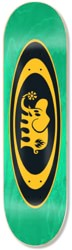 Black Label Oval Elephant 8.5 Skateboard Deck - green