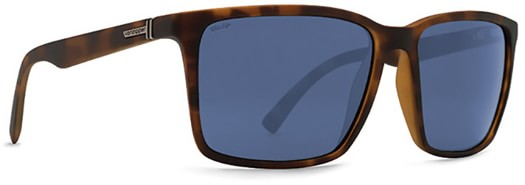 Von Zipper Lesmore Polarized Sunglasses - tortoise satin/wild slate grey polar lens - view large