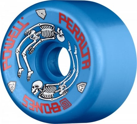 Powell Peralta G-Bones Re-Issue Skateboard Wheels - blue (97a) - view large