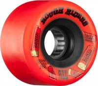 Bones ATF Rough Riders Skateboard Wheels - shotgun red (80a)