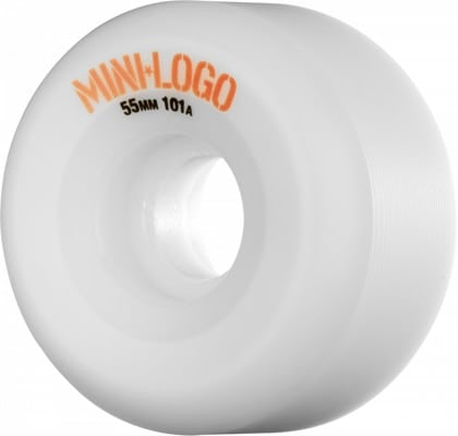 Mini Logo A-Cut Skateboard Wheels - white (101a) - view large